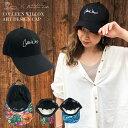 Colleen Wilcox CAP キャップ 帽子 花柄 無地 ロゴ お洒落 可愛い ビーチ 大人カジュアル 綿 コットン ラレイア laleia
