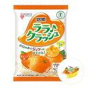 マンナンライフ 蒟蒻畑 ララクラッシュ オレンジ味 8個入×12袋[ケース販売]特定保健用食品