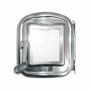 ホンマ製作所 時計型薪ストーブ用 ガラス窓付 替え扉