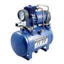 【送料無料】 Meltec [大自工業] ミニエアーコンプレッサー オイルレス方式・タンク