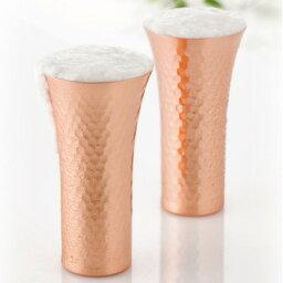 【お取り寄せ】食楽工房 銅製食器 ビアカップ 1本 CNE910