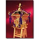 【お取寄せ】【送料無料】 ウッディジョー 木製模型 【1/5 江戸神輿】