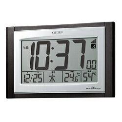 CITIZEN シチズン 電波時計 掛置兼用 デジタルタイプ パルデジットコンビR096 8RZ096-023