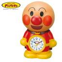 【送料無料】 リズム時計 キャラクター目覚し時計 アンパンマンめざましとけい 4SE552-M06