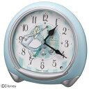 【送料無料】 リズム時計 キャラクター目覚し時計 アナログめざまし/アリス 8RE664MC04