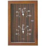 クレセル 温度計・湿度計CR-660 C 壁掛・卓上両用
