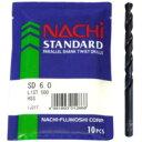 【送料無料】 NACHi [ナチ] スタンダードドリル [鉄工用ドリル] 袋 [SD] 【3.4mm】 【10本入】