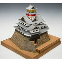 ウッディジョー 木製建築模型 【1/150 安土城 天守閣】レーザーカット加工