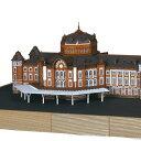ウッディジョー 木製建築模型 1/350 東京駅 丸の内駅舎 レーザーカット加工
