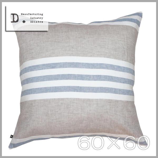 ◆只今!ポイント10倍!◆【メール便可】DDintex(ディーディーインテックス)Cushion Cover【クッションカバー】60×60※クッション中材別売Orizzonte(オリゾンテ) 色:BL