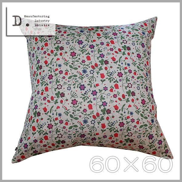 ◆只今!ポイント10倍!◆【メール便可】【メール便送料無料】DDintex(ディーディーインテックス)Cushion Cover【クッションカバー】60×60※クッション中材別売Fragola(フラーゴラ) 色:NT
