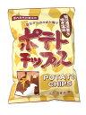 松浦食品 昔ながらのかまど揚げ ポテトチップス  145g