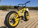 "【MODEL】""BRONX 20nch FAT-BIKES""""湘南鵠沼海岸発信""20inchファットバイク《RAINBOW BRONX 20inchFAT-BIKES》COLOR:イエロー×イエローリム 05P01Mar15"