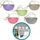 【 ガーデン雑貨 】【大人気商品】ARTSTONE アートストーン ハンギング ボール 直径25cm 全5色