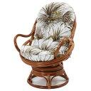 籐家具 アジアン家具 籐回転座椅子 パーソナルチェア 回転イス 回転椅子 回転チェア リラックス ラタン 籐椅子 チェア アジアン 籐製 ラタン