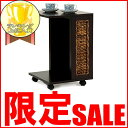 【SALE】14999→12999円!!サイドワゴン アジアン家具 バナナリーフ ウォーターヒヤシンス アジアンカフェ