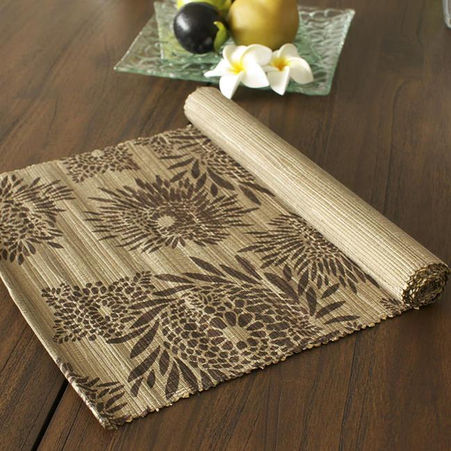 再入荷商品ヤシ製テーブルライナーバリのアジアン雑貨テーブルランナーキッチン雑貨バリリゾートホテルイン