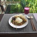 アジアン雑貨 ランチョンマット おしゃれ アジアン 雑貨 バリ 濃紺色 ネイビー ランチマット キッチン雑貨 ダイニング テーブルランナー テーブルマット1枚 Z190311F Bali Direct