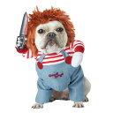 ショッピングハロウィン チャイルドプレイ チャッキー ペット用 犬用 コスプレ コスチューム 衣装 ハロウィン Child's Play