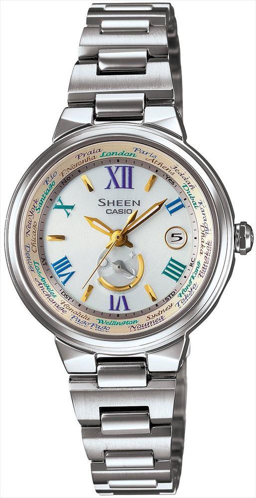 【送料無料】 【CASIO/カシオ】 SHEEN REF:SHW-1509D-7A3JF レディース腕時計 新品 人気