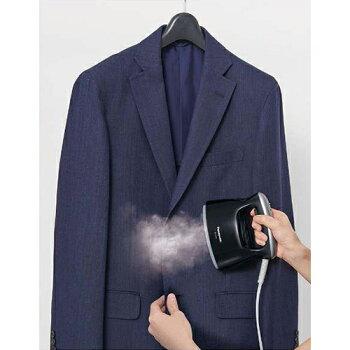 【送料無料】[PANASONIC/パナソニック]衣類スチーマーNI-FS470-Kブラック【0824楽天カード分割】