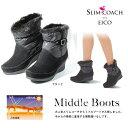 スリムコーチ 2way あったか ミドルブーツ slimcoach Middle Boots EIC...