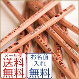 ☆免费更名为他的名字印在铅笔,铅笔工作长期伍迪!铅笔系列RAPISUORIJINARU[メール便・鉛筆・名入れ無料 ウッディねーむ鉛筆2B・HB 木のぬくもり・かわいいオリジナルイラスト]