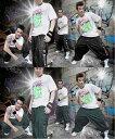 [THIAM/ティアム]デニム カーゴパンツ#TT038【ヒップホップ/HIPHOP/ダンス ウェア/DANCE/ダンス パンツ/ズンバ ウェア/ZUMBA/ヨ...