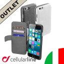 【アウトレット】iPhone6 ケース レザー 手帳型 4.7 革 アイフォン6 イタリア Cellularine セルラーライン スマートフォンケース| アイホン Cellularline スマホ スマホケース スマートフォン スマホカバー 携帯ケース 携帯カバー スマートフォンカバー ブランド おしゃれ