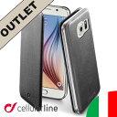 【アウトレット】Galaxy S6 edge ケース 手帳型 セルラーライン Cellularline| スマホ スマホケース スマートフォン スマートフォンケース スマホカバー 携帯ケース 携帯カバー スマートフォンカバー ブランド おしゃれ