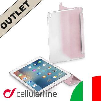 iPad 臨 9.7 箱蓋清除的 Air2 輕巧時尚知道 32 GB 128 GB 256 GB Cellularline 細胞系 CLEARVIEWIPAD