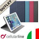 【アウトレット】iPad Pro 9.7 ケース スタンド 高級 イタリア ブランド ビジネス セルラーライン Cellularline