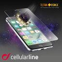 iPhone7 ガラスフィルム 全面 保護 フィルム 液晶 iPhone7 Plus アイフォン7 0.21 mm 高級 イタリア セルラーライン Cellularline| ガラス 液晶保護フィルム アイホン7 iphone7プラス 携帯フィルム スマホ スマートフォン スマートホン スマホフィルム スマフォ ブランド
