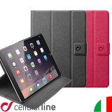 iPad mini4 ケース スタンド 外国 海外 イタリア ブランド セルラーライン Cellularline