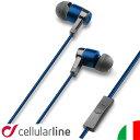 イヤホン 高音質 カナル 密閉型 iPhone 外国 海外 イタリア セルラーライン Cellularline