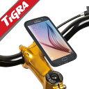 TiGRA Sport 自転車 バイク スマホ ホルダー 防水 スマートフォン Galaxy S7 edge S6 ロードバイク オートバイ 用 自転車パーツ サイクルコンピューター サイコン GoPro アクションカム ウェアラブルカメラ アクセサリー ギャラクシー s8 プラス ケース ギャラクシーs8