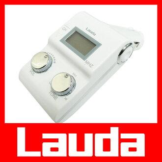 새로운 iPad mini, iPod touch, iPhone5도 대응! FM 송신기 (이어폰 잭/3.5 φ 스테레오 미니 플러그) 재생 + 음질/음량 조절 기능을 갖춘 XL-106 (화이트): Lauda 크게.