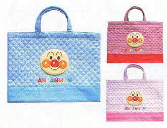 Anpanman ★ lesson bag [quilting] ★ pink bags anime toy store ☆☆