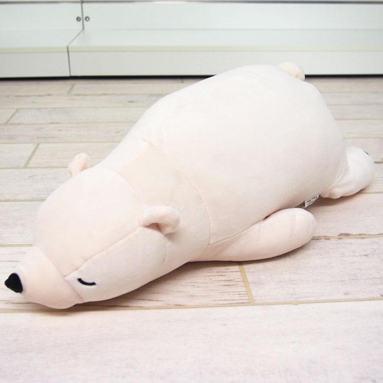 ねむねむプレミアム抱き枕M(WHITE/シロクマのラッキー)