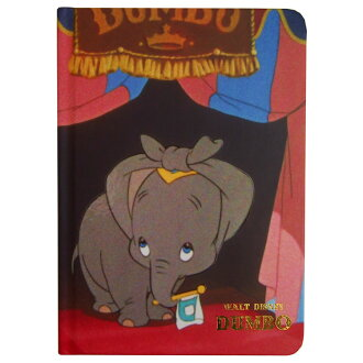 Disney Dumbo toy B6 notebook ★ film art ★