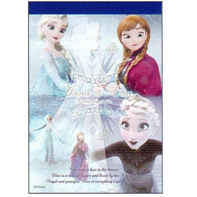 アナと雪の女王A6メモ帳