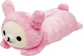 -Plush tissue cover korilakkuma rabbit