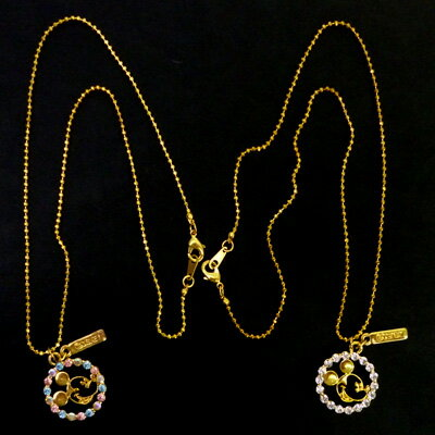 863 Kids necklace set-white (gold)