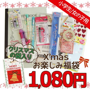 【クリスマスの袋入り〔xwrap27〕】【福袋・ラッピング不可】●1659クリスマスお楽しみ福袋(女の子/小学生用)