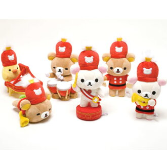 Miniature plush toys set of 6 ★ リラックマワンダーランド ★ ★ 10th anniversary ★