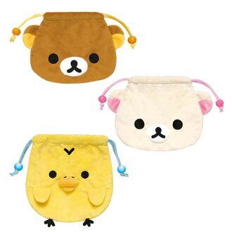 【Rilakkuma】 ☆ Plush pouch