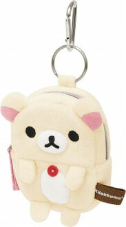 -Plush pouch small ( korilakkuma ) ★ Diecast & face series ★.