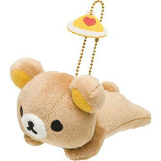 -Plush badge ( rilakkuma and elongation )