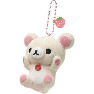 -Plush badge ( korilakkuma, disregarding )