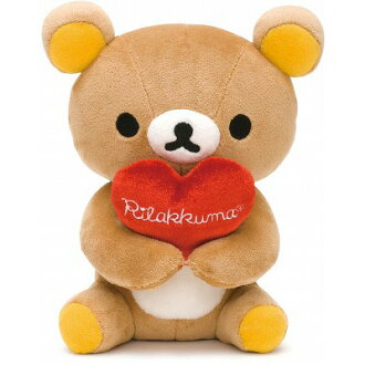 【Rilakkuma】 Desk rilakkuma (heart)